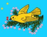 Dibujo Golondrina pintado por LunaLunita