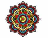 Mandala flor oriental