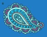 Dibujo Mandala lágrima pintado por Majestic