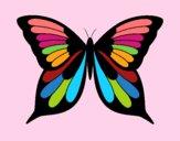 Dibujo Mariposa 8 pintado por LunaLunita