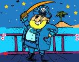 Dibujo Pirata a bordo pintado por LunaLunita