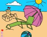 Dibujo Playa pintado por LunaLunita