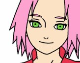 Sakura Haruno red