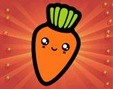 Zanahoria sonriente