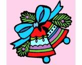 Dibujo Campanas de navidad 1 pintado por asas