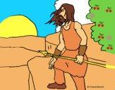 Dibujo Cazador 1 pintado por LunaLunita