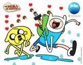 Finn y Jake