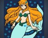 Dibujo Sirena pintado por jesiica12