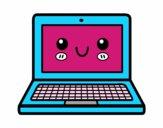 Un ordenador portátil