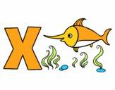 Dibujo X de Xipihas pintado por Aiyan
