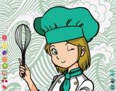 Dibujo Cocinera pintado por Zafi2005