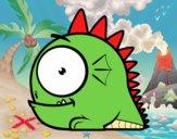 Dibujo Dragón pequeño pintado por kevin312