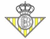 Dibujo Escudo del Real Betis Balompié pintado por bautopa