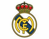 Dibujo Escudo del Real Madrid C.F. pintado por tabathamc