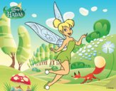 Dibujo Hadas Disney - Campanilla pintado por kjdfshiudf