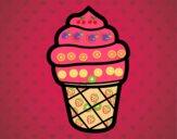 Helado dulce