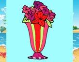 Jarrón de flores 2a