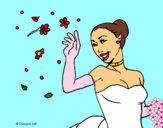 Dibujo Novia feliz pintado por LunaLunita