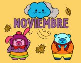 Dibujo Noviembre pintado por Milu_01