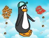 Pingüino con gorra