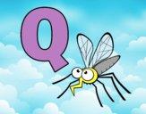 Dibujo Q de Mosquito pintado por ana_0911