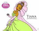 Tiana y el sapo - Tiana y su vestido