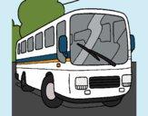 Dibujo Autobús pintado por kjdfshiudf
