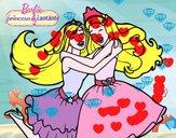 Barbie abrazada