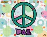 Dibujo Círculo de la paz pintado por Mandyta