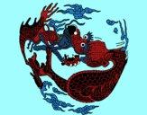 Dragón en bola