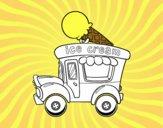 Food truck de helados