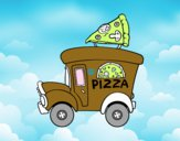 Food truck de pizza