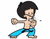 Luchador de kung-fu