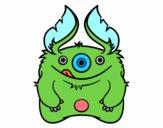 Dibujo Monstruo peludo pintado por charis
