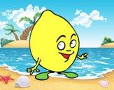 Niño limón