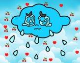 Nube llorando