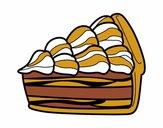 Dibujo Tarta de nata pintado por Potte