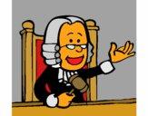 Dibujo Juez pintado por sufrit