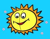 Sol feliz