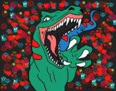 Dibujo Velociraptor II pintado por MIGUELUX