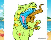 Dibujo Velociraptor II pintado por noramision