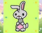 Dibujo Art el conejo pintado por sofiana6