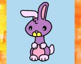 Dibujo Art el conejo pintado por Ali2004