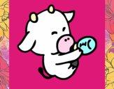 bebe vaca