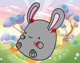 Conejo bebé