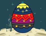 Huevo del día de Pascua