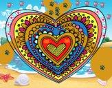 Mandala corazón