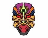 Dibujo Máscara de robot alien pintado por juanjesus3
