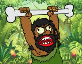 Dibujo Homo sapiens enfadado pintado por queyla