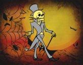 Señor esqueleto